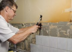 Самостоятельная облицовка стен кафелем в ванной комнате